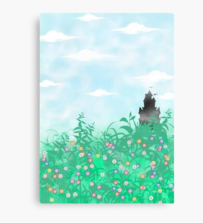 Hidden Fairy-tale Castle  Canvas Print