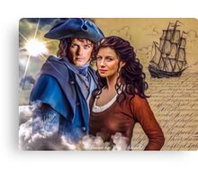 "Claire & Jamie ""Voyager"" Canvas Print"
