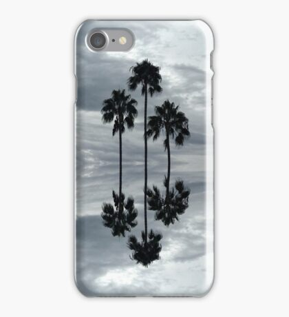 Mirrored Palm Trees iPhone Case/Skin