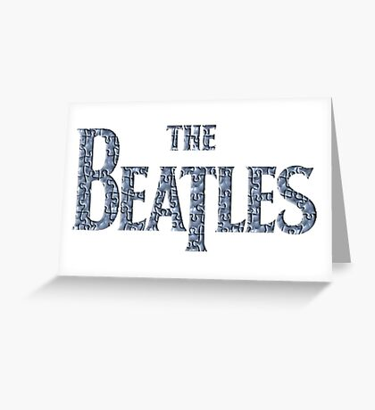 the beatles, The Beatles, Beatles, band, movie, poster the beatles Greeting Card