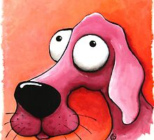 The Pink Dog by StressieCat