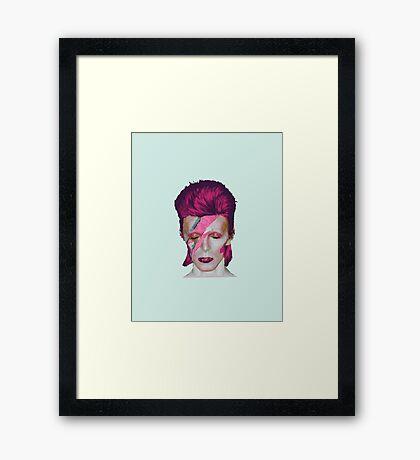 David Bowie Aladdin Sane Sea Foam Green // David Bowie Shirt // David Bowie Dress // David Bowie Mug // David Bowie Poster // David Bowie Ziggy Stardust Framed Print
