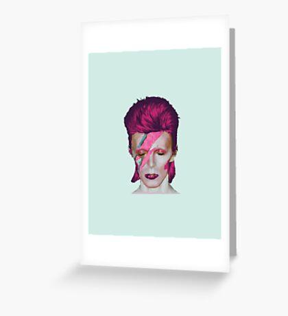 David Bowie Aladdin Sane Sea Foam Green // David Bowie Shirt // David Bowie Dress // David Bowie Mug // David Bowie Poster // David Bowie Ziggy Stardust Greeting Card