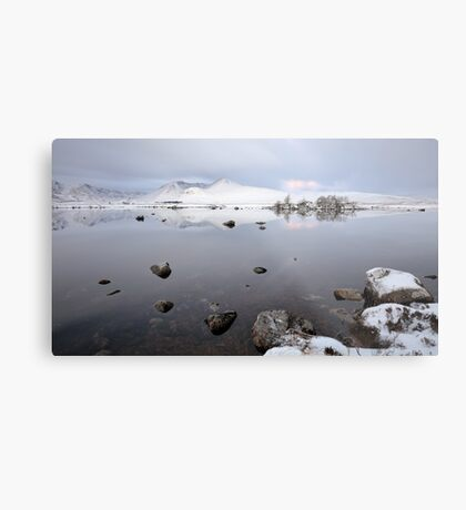 Winter Sunrise Glencoe Metal Print