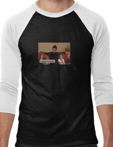 Kenny VS Spenny Brazzers - Meme Men's Baseball ¾ T-Shirt