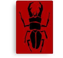 Beetle BackQ Canvas Print