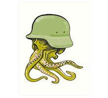 Warsquid Art Print