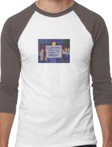 Alien Dude, Need 2 Tickets To WAVVES - Simpsons Meme Men's Baseball ¾ T-Shirt