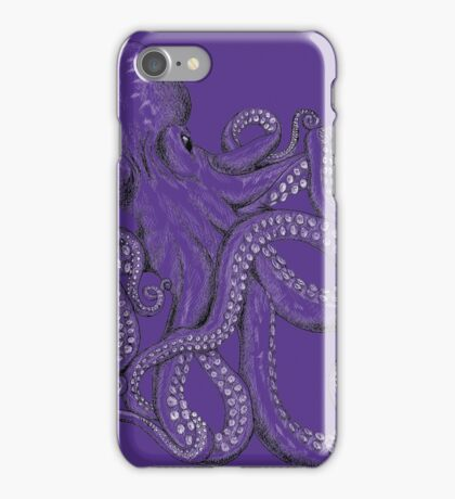 Realistic Octopus - Two Tone iPhone Case/Skin