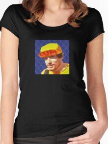 Sam Hyde, CUM Hat  Women's Fitted Scoop T-Shirt