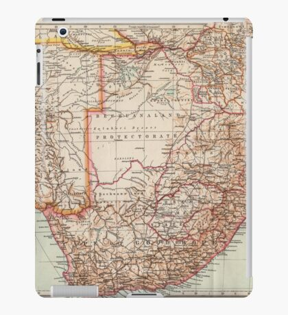 South Africa Antique Maps iPad Case/Skin