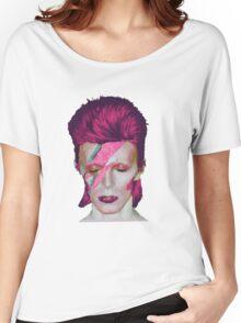 David Bowie Aladdin Sane // David Bowie Shirt // David Bowie Dress // David Bowie Mug // David Bowie Poster // David Bowie Ziggy Stardust Women's Relaxed Fit T-Shirt
