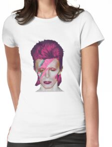 David Bowie Aladdin Sane // David Bowie Shirt // David Bowie Dress // David Bowie Mug // David Bowie Poster // David Bowie Ziggy Stardust Womens Fitted T-Shirt