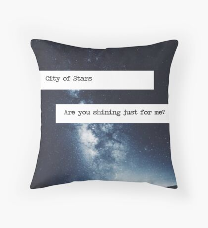 Stars - LaLa Land Throw Pillow