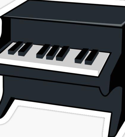Little Piano Sticker