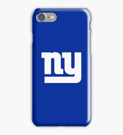 New York Giants iPhone Case/Skin