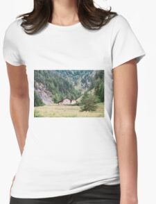 Base camp  Womens Fitted T-Shirt