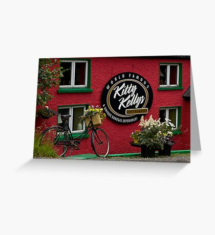 Kitty Kelly's restaurant, Donegal - wide Greeting Card