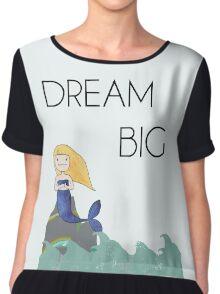 Mermaid in the Ocean - Dream Big Chiffon Top