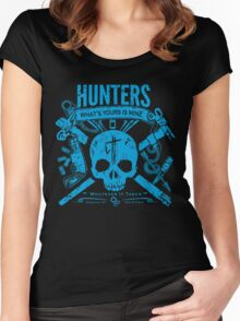 Another Dead Tourist Women's Fitted Scoop T-Shirt