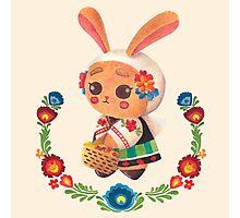 The Polish Bunny Photographic Print
