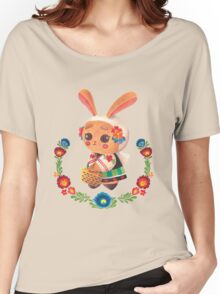 The Polish Bunny Women's Relaxed Fit T-Shirt