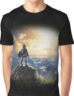 The Legend of Zelda: Breath of the Wild Graphic T-Shirt