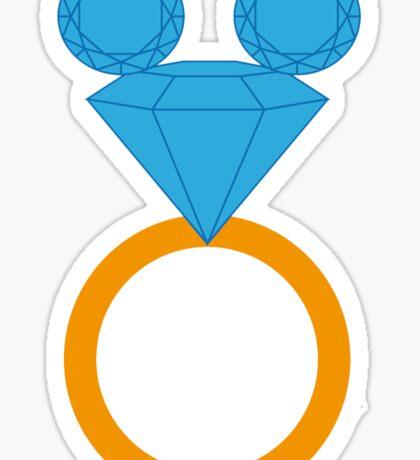 Disney Bride Sticker