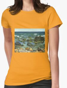 Block Island Womens Fitted T-Shirt