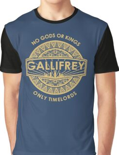 Gallifrey - No Gods or Kings, only Timelords Graphic T-Shirt