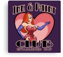 Ink & Paint Club Canvas Print