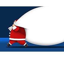 Big Santa Gifts Photographic Print