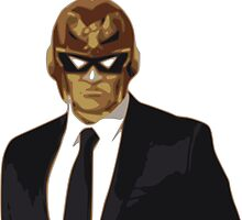 Captain Falcon in Formal Attire by cangurojoe