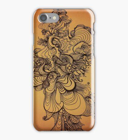 liquid lines iPhone Case/Skin