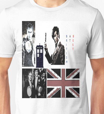 British At Best.  Unisex T-Shirt