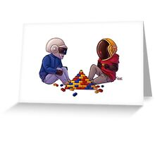 Daft Punk - Lego Greeting Card