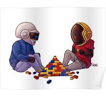 Daft Punk - Lego Poster
