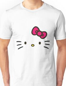 The Face of Hello Unisex T-Shirt
