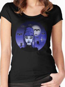 Batsheba!  Women's Fitted Scoop T-Shirt