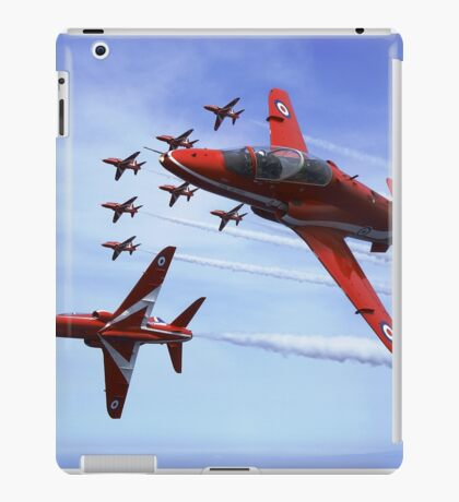 The RAF (Royal Air Force) Red Arrows iPad Case/Skin