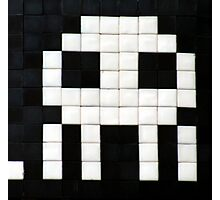 Space invader  Photographic Print