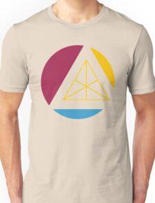 tertiary geometric colors Unisex T-Shirt