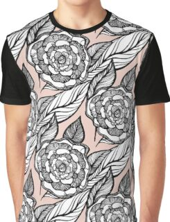 rose flowers pattern Graphic T-Shirt