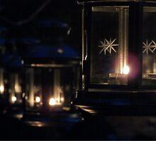 Lanterns at Night by Austin Tanner