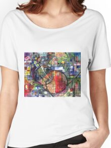 SPACE STATION(C2001) Women's Relaxed Fit T-Shirt