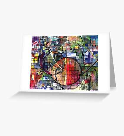 SPACE STATION(C2001) Greeting Card