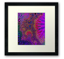 Colourful Roots Framed Print