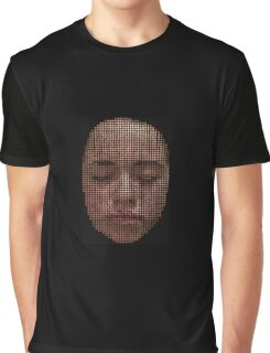 Trippy 3D Face Graphic T-Shirt