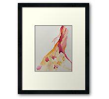 Floral Figure Framed Print