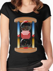candy time Women's Fitted Scoop T-Shirt
